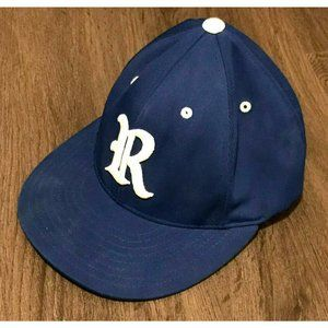 Buckhorn Alabama Fitted Baseball Hat Blue And